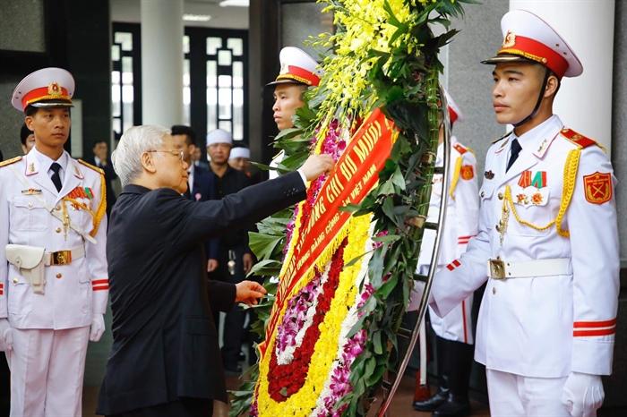 Hình ảnh: Lễ viếng nguyên Tổng Bí thư Đỗ Mười số 3