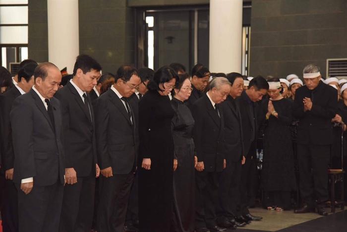 Hình ảnh: Lễ viếng nguyên Tổng Bí thư Đỗ Mười số 5