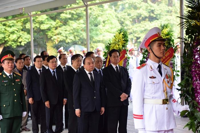 Hình ảnh: Lễ viếng nguyên Tổng Bí thư Đỗ Mười số 7
